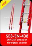 Snager Extension Fiberglass Ladd...